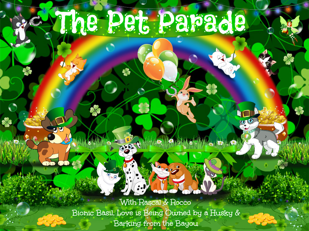 Go green for St. Patrick's Day with the Pet Parade, where all your favorite pets and animals can be found