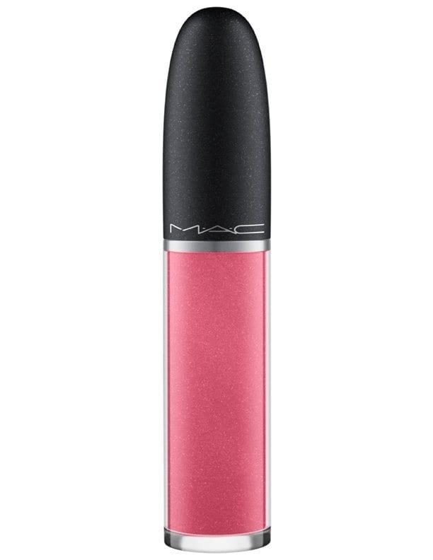 MAC Retro Matte Liquid Lipcolour Metallic Rose