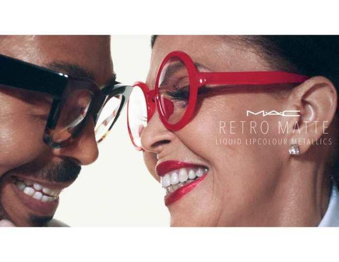 MAC Retro Matte Metallic Liquid Lipcolour Romero Jennings Promo