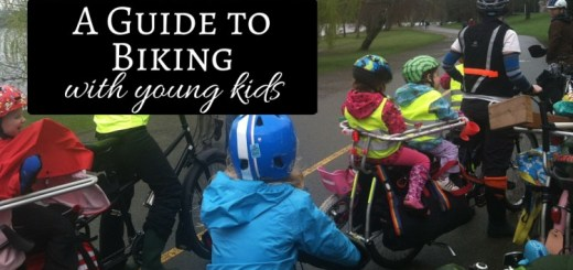 Guide to Cycling with young kids