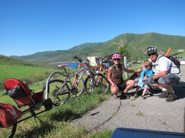 Family Bike Touring