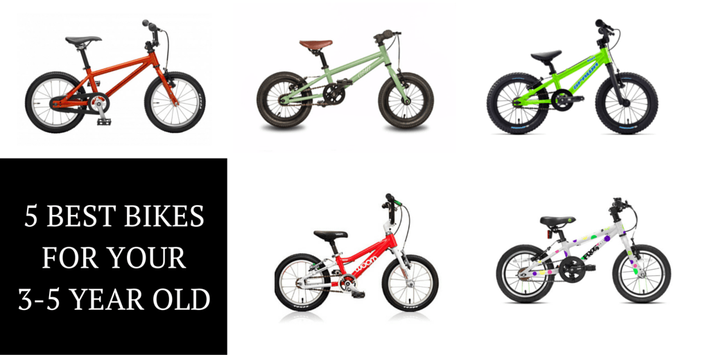 The 5 Best Pedal Bikes for Your 3 to 5 Year Old