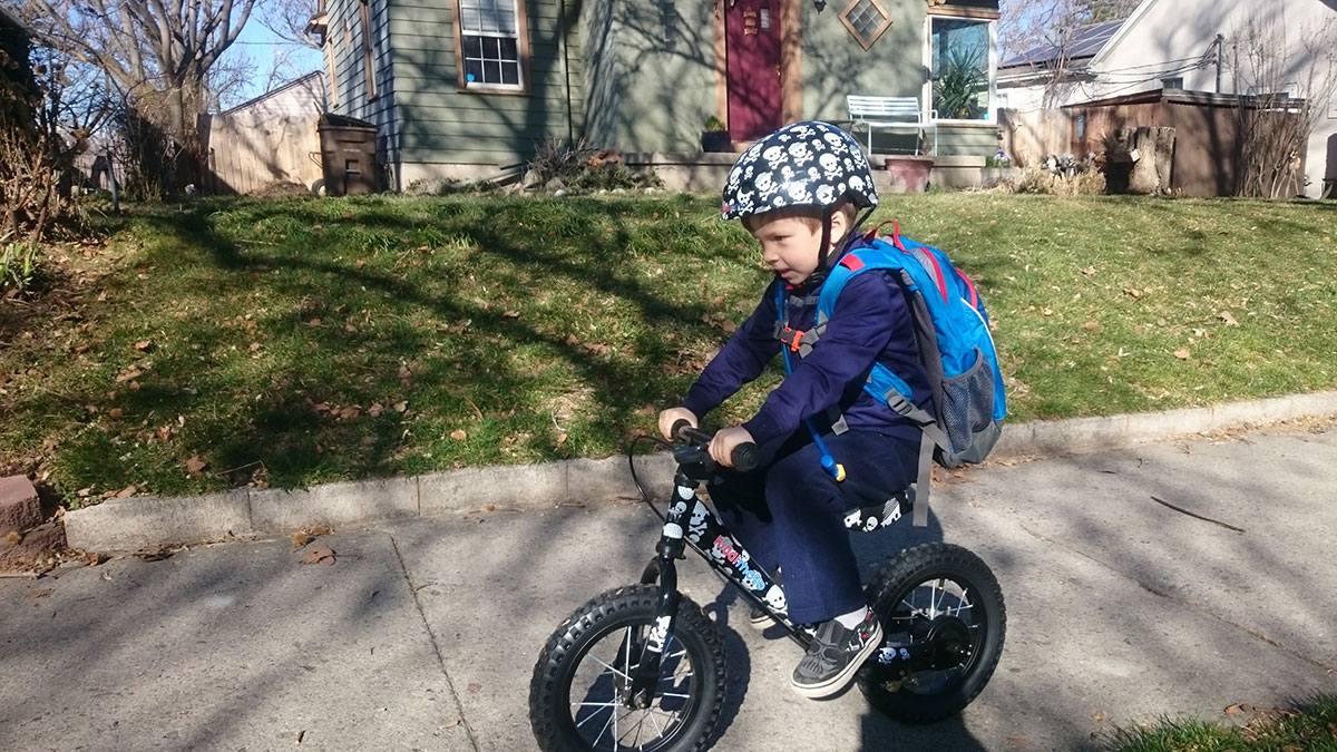 Kiddimoto Helmet and Balance Bike