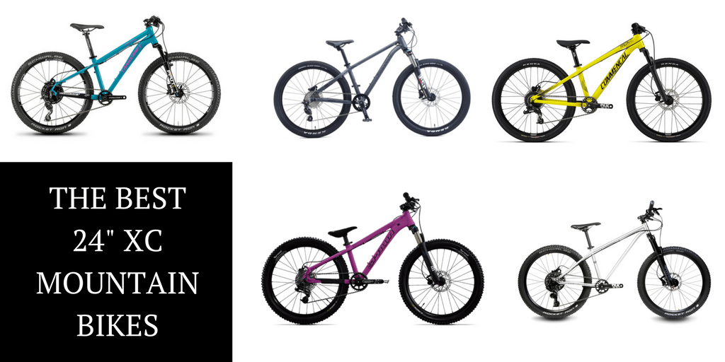 "The 5 Best 24"" XC Mountain Bikes for Kids"