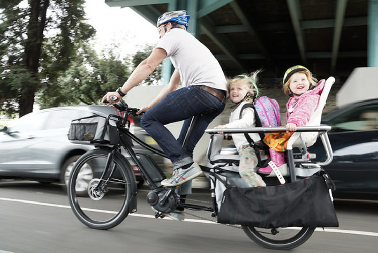 Xtracycle Edgerunner cargo bike