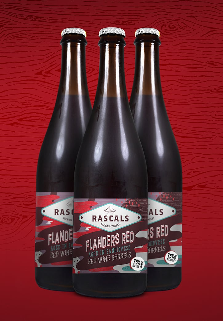 Rascals Craft Brewing Barrel Aged Flanders Red Tasting Notes