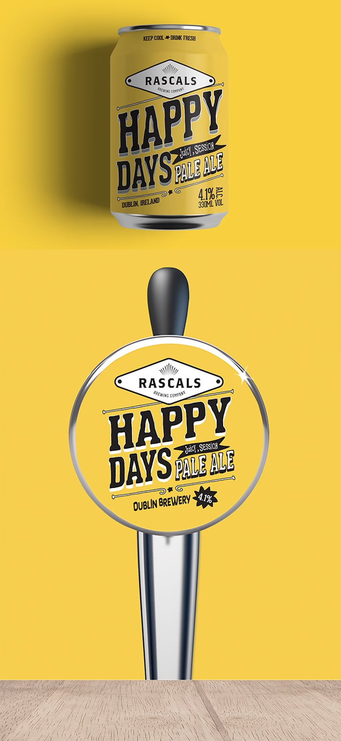 Rascals Craft Brewing Happy Days Pale Ale Tasting Notes