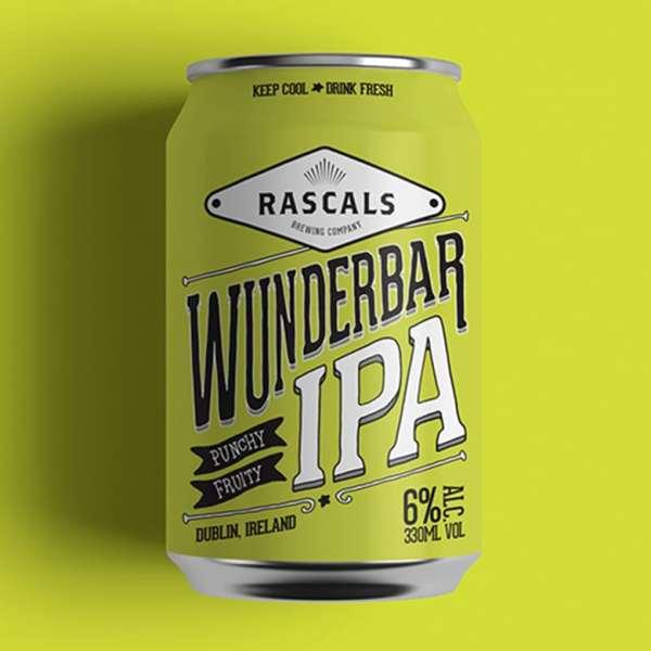Rascals Craft Brewing Wunderbar IPA