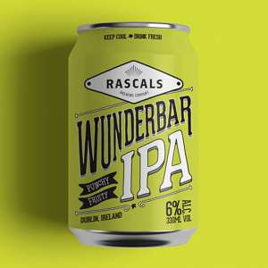 Rascals Craft Brewing Wunderbar IPA