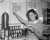 dodger hot dog lady