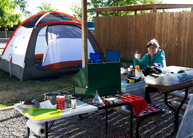 Grand Junction KOA Tent Spot