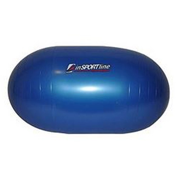 Capsule Shaped Gym Ball for Fitness Exercise and Recovery Purposes - Blue