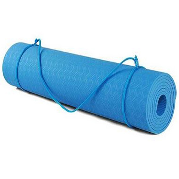 TPE YOGA MAT 8MM- ECO FRIENDLY