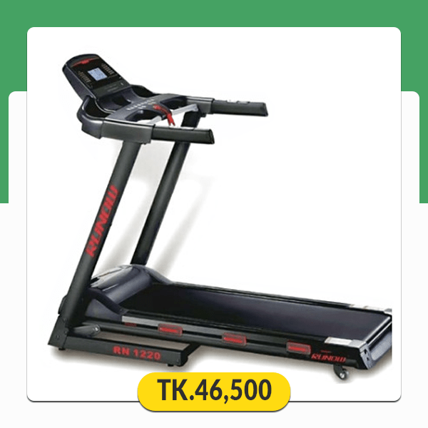 RN 1220 Runow 3 HP Motorized Treadmill