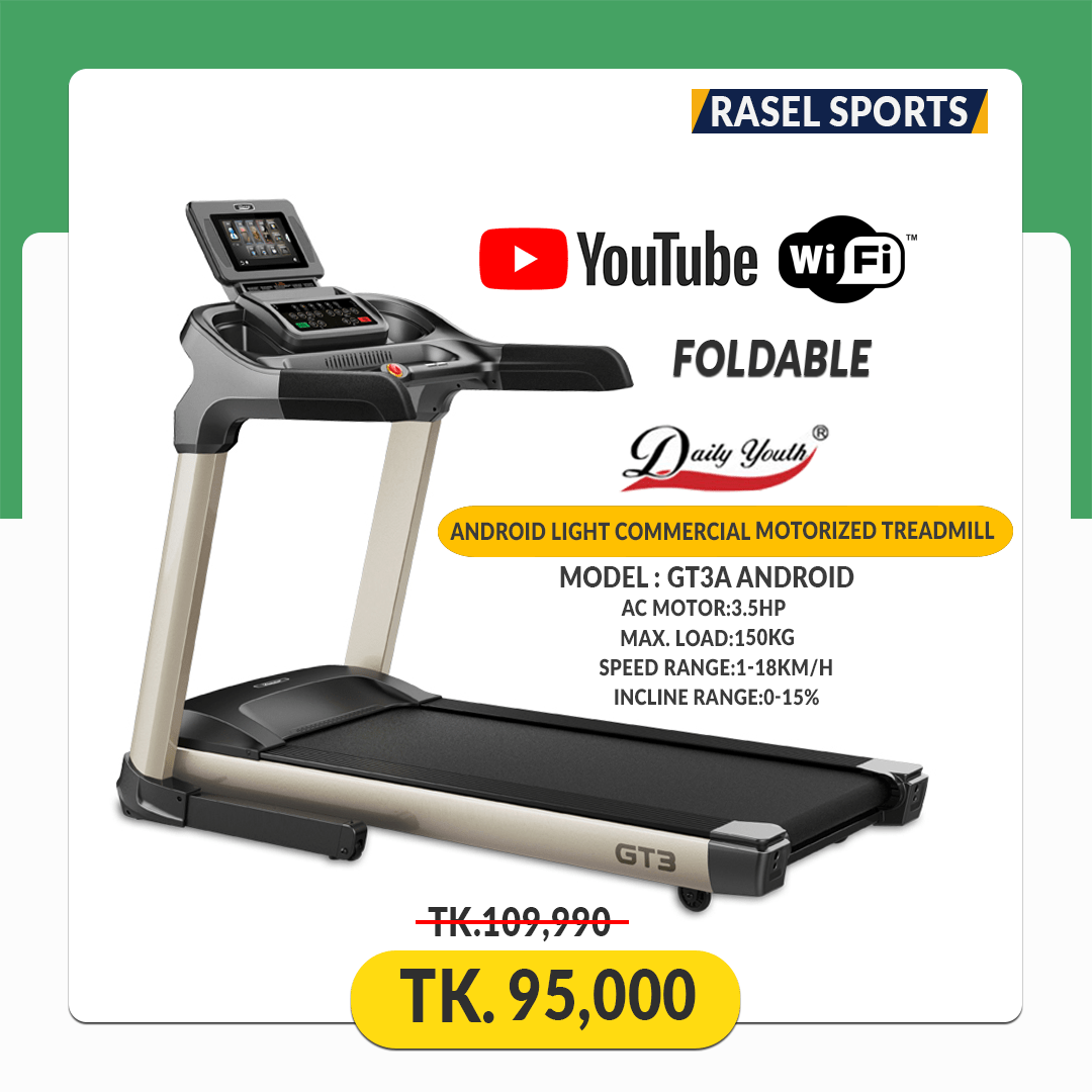 GT3A-Android Motorized Treadmill