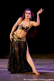 Rasha's bellydance performance at the Hathor award competition - London, December 2014