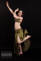 Oxford bellydancer Rasha Nour playing sagat (finger cymbals)