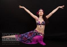 Oxford bellydancer Rasha Nour in purple 15
