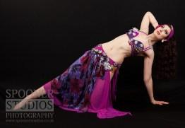 Oxford bellydancer Rasha Nour in purple 16