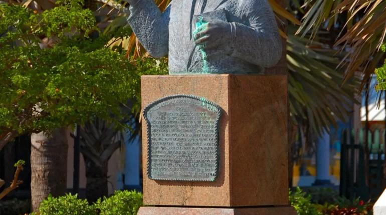 Bust of Sir Milo Butler Statue