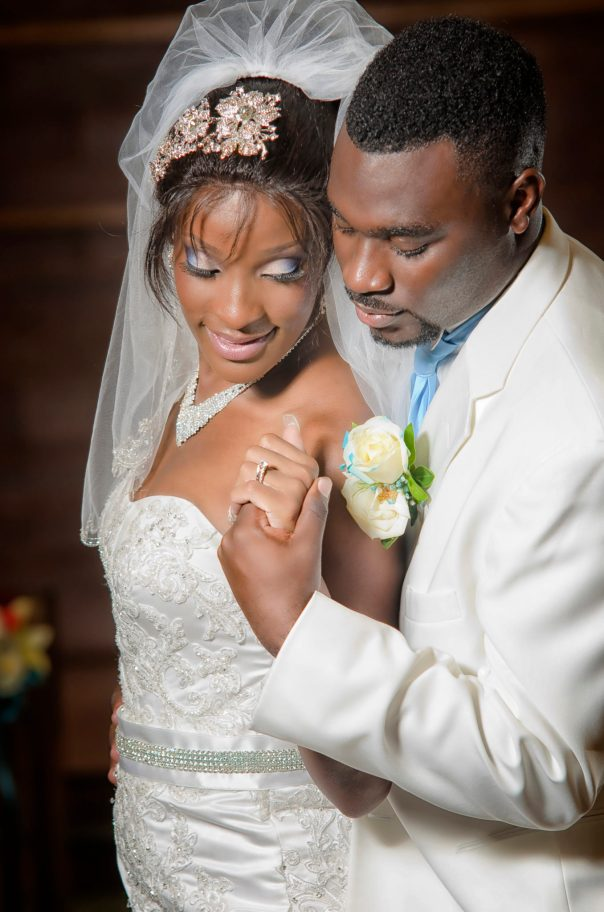 Christina and Miguel Neely wedding