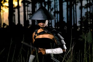 bahamian photographer isamurai women warrior