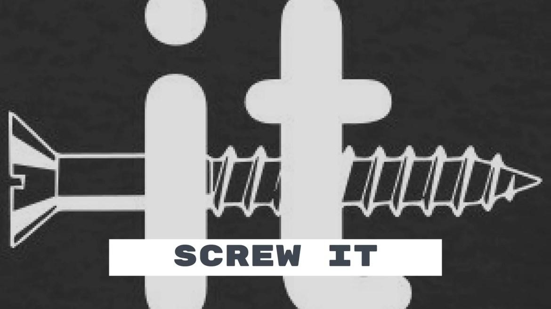 Screw it im DONE!! – Starting Over