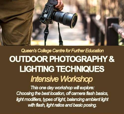 Outdoor Photography & Lighting Techniques Workshop