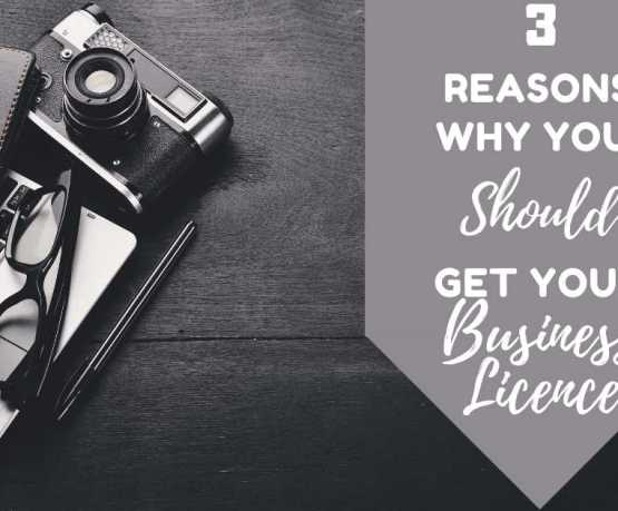 3 Reasons why you should get your Business License?