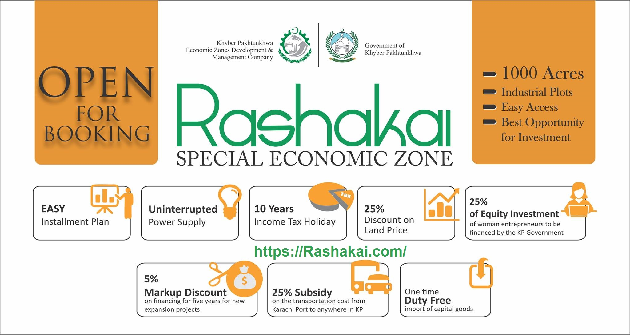 Rashakai Special Economic Zone The Heart of CPEC