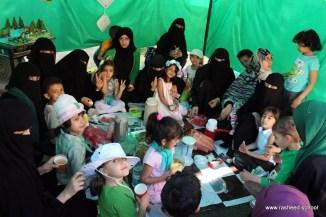 مخيم مدرسي في اختتام أنشطة التمهيدي - مدارس الرشيد الحديثة (51)