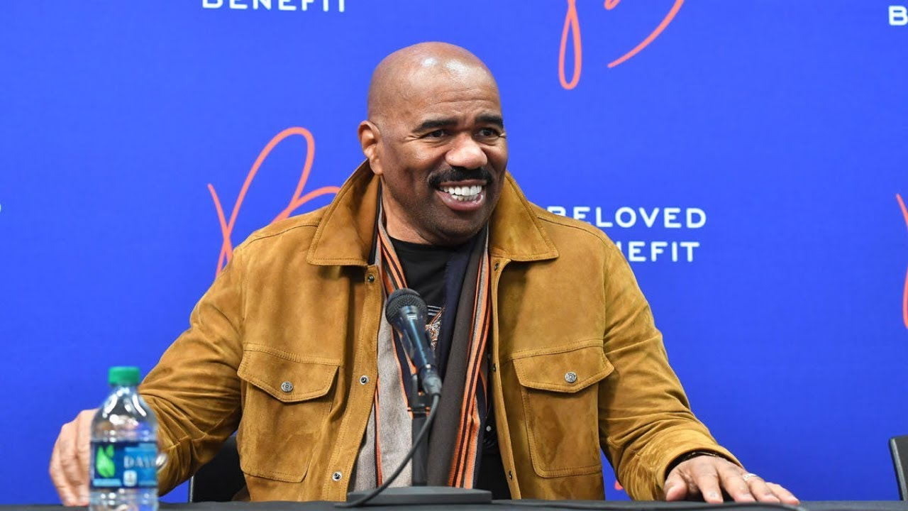 American TV star Steve Harvey names his best radio presenter in Ghana