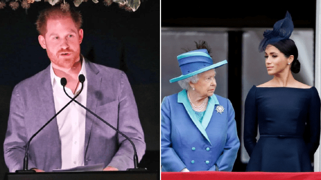 Prince Harry addresses his decision to step down from royal duties