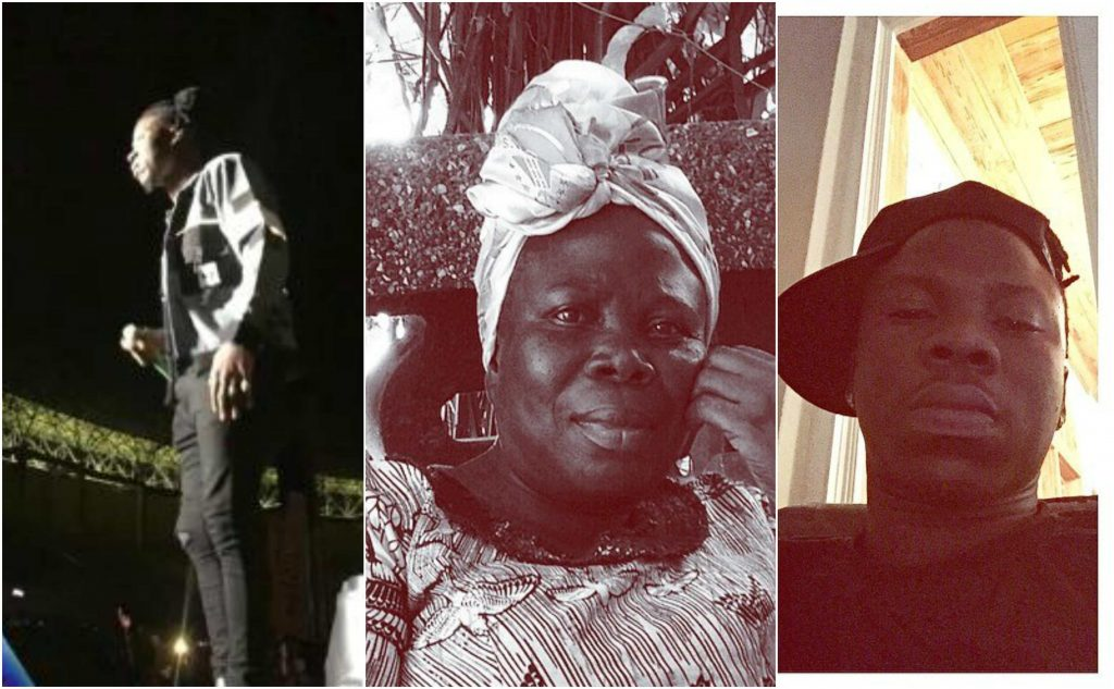 Stonebwoy shows off Hidden tattoo of his mum for the first time (photos)