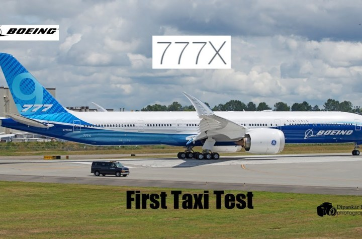Boeing 777X: One of world's biggest passenger planes completes test flight