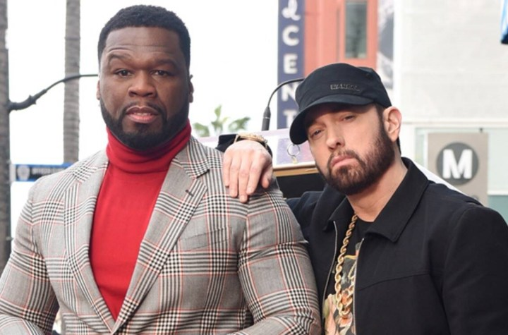 """Eminem says 50 Cent is """"one of the best friends in the world"""""""