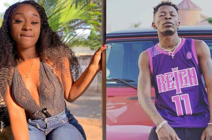 Efia Odo Spills Out Why Shatta Wale Is No More Her Bestie