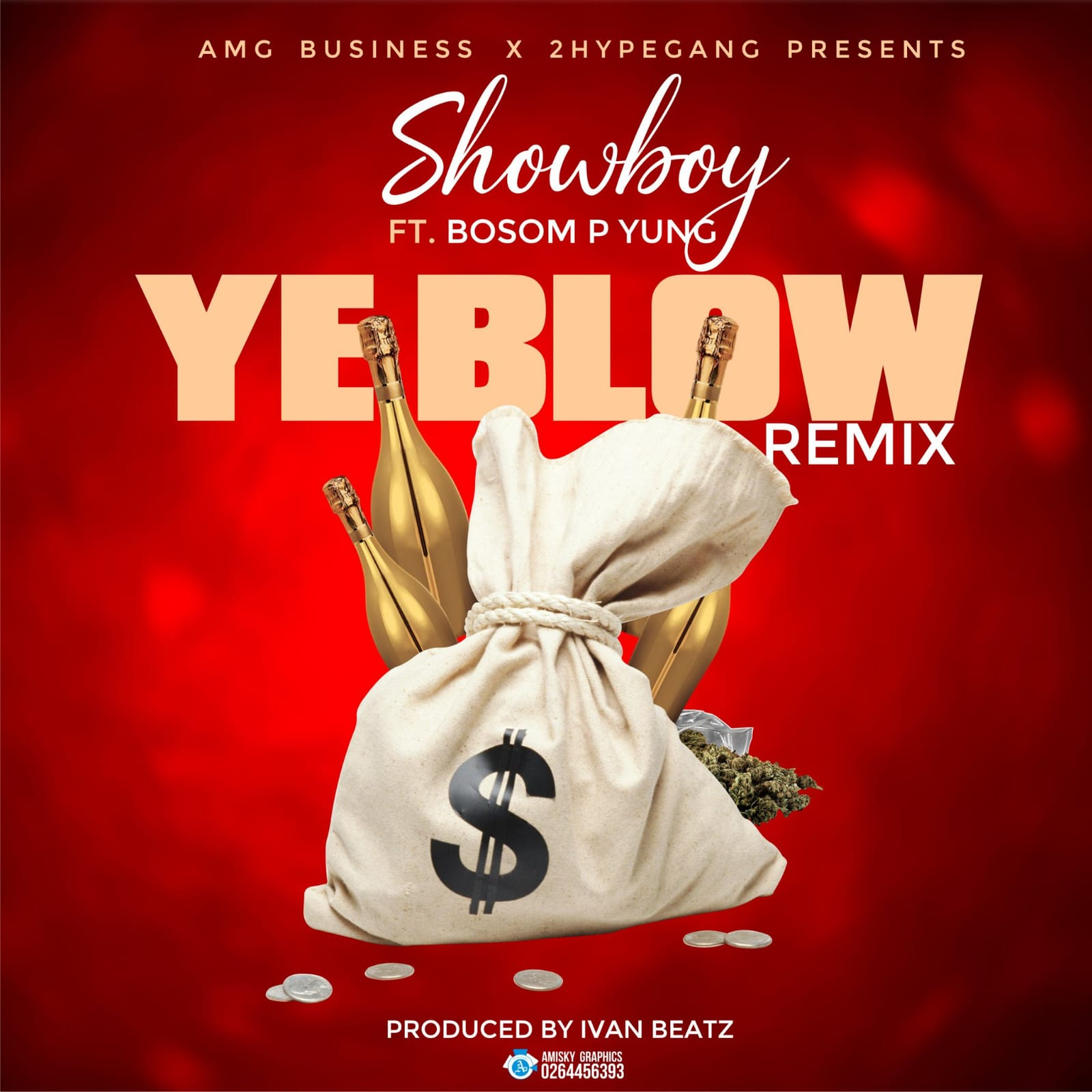 Showboy (showbeezy) released the official cover art of his song featuring Bosom P Yung