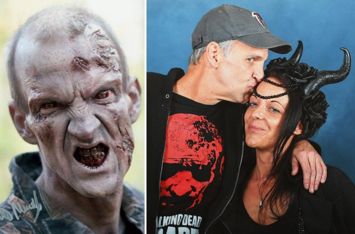 The Walking Dead zombie actor jailed after biting British fan