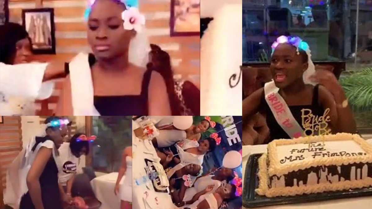 Fella Makafui Holds Bridal Shower With Friends