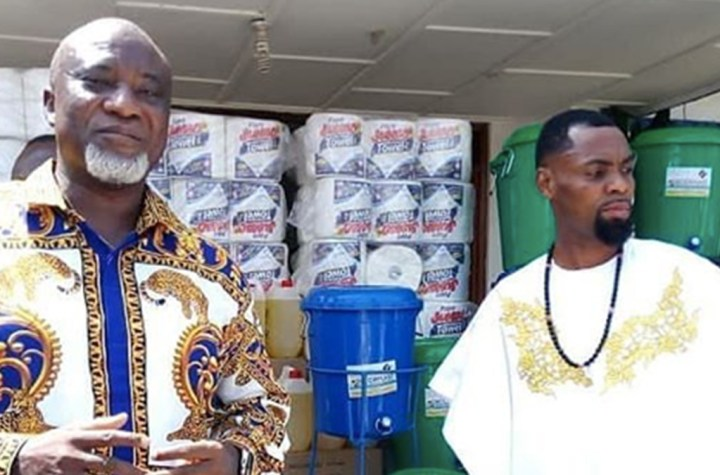 Rev Obofour donates GH¢100,000 and items to Tema General Hospital