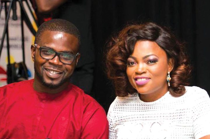 Funke Akindele's Husband Turns Himself In And Spends The Night With Her In Police Cells