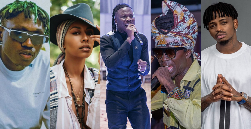 Stonebwoy Releases Names Of All The Top Artistes He Featured On His Latest Album 'Anloga Junction'