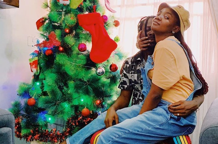 Adekunle gold and wife Simi expecting first child
