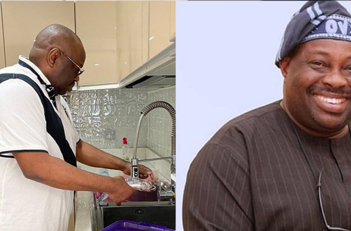 Chief Dele Momodu cooks to promote RMD's gender equality challenge