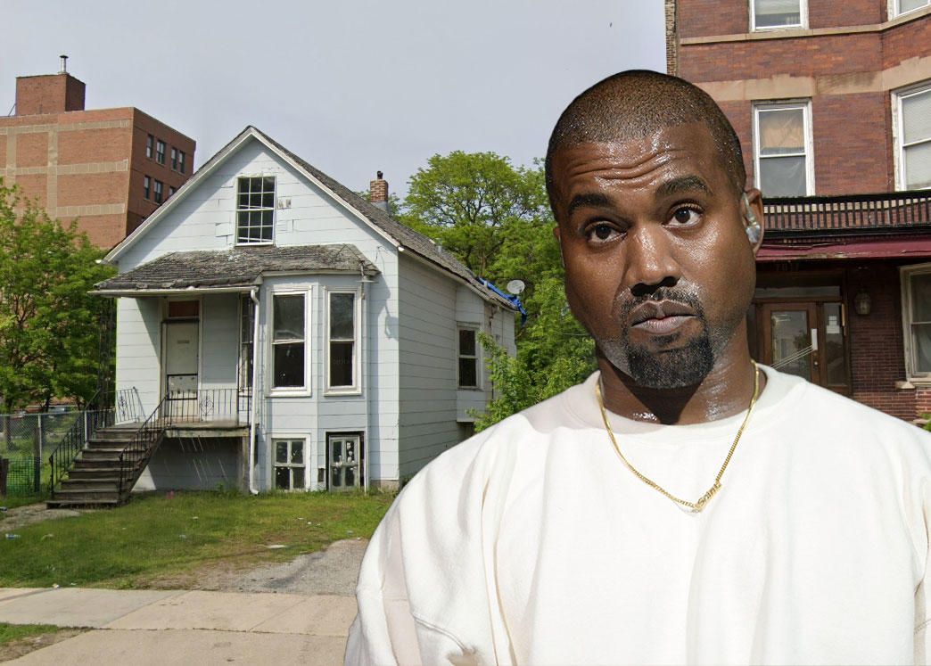 Kanye West buys BACK his childhood home in Chicago