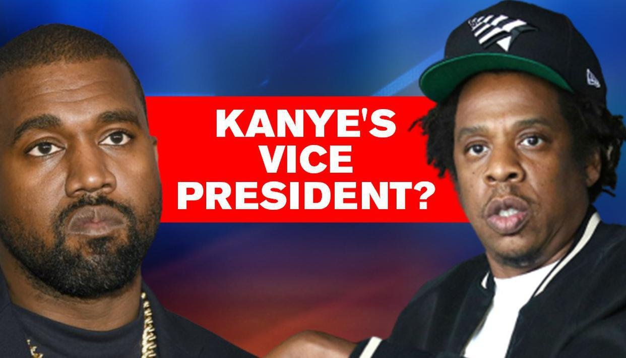 Kanye West wants Jay-Z to be his running mate and Vice President in upcoming US Elections