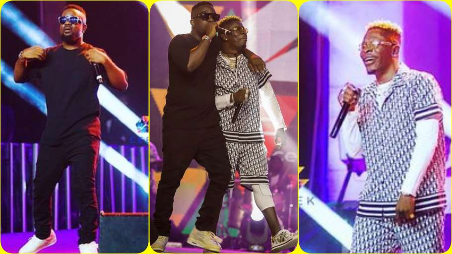 Watch: Sarkodie And Shatta Wale's Performance At The BlackLove Virtual Concert