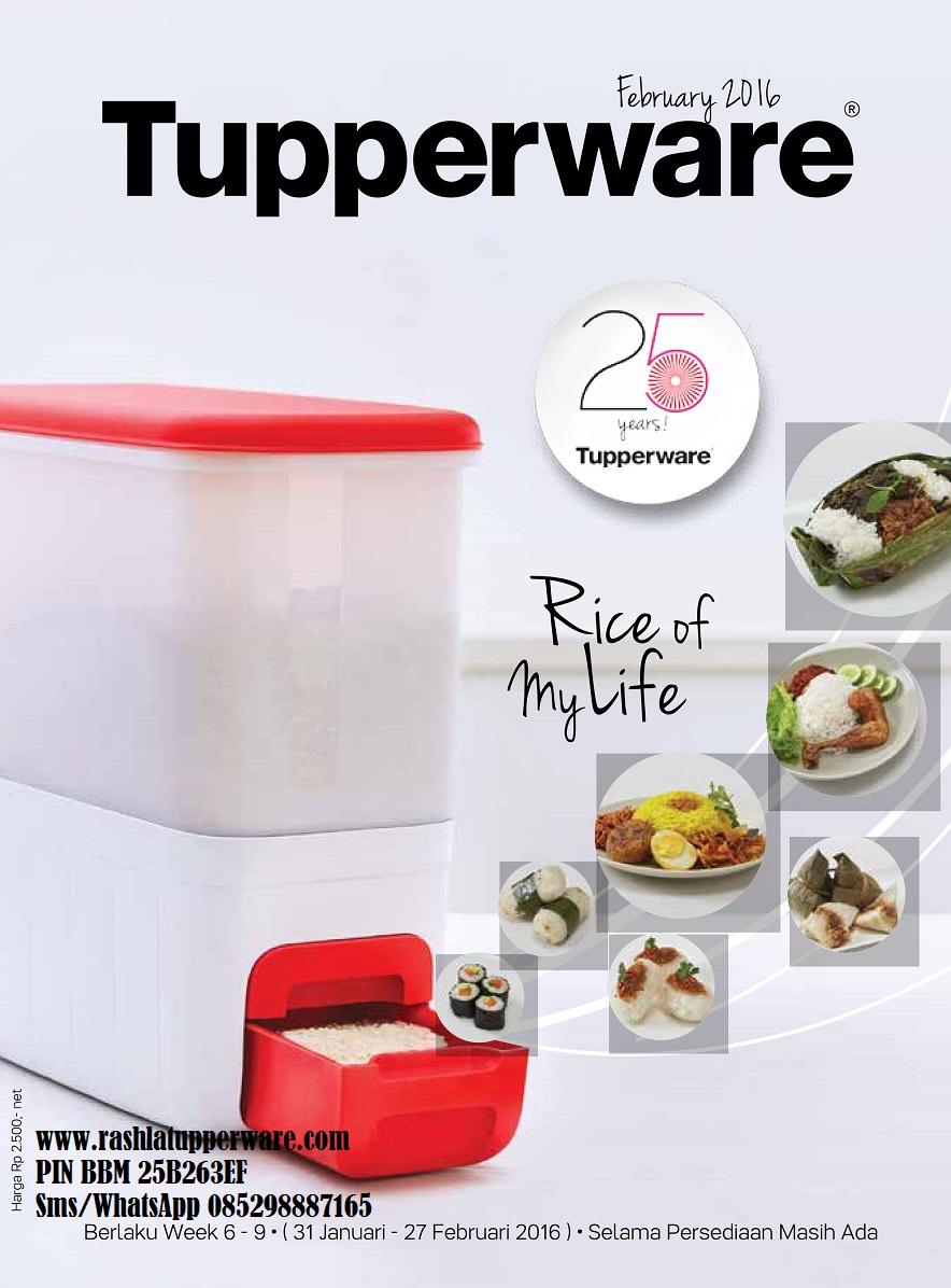 Katalog Tupperware Promo Februari 2016 : katalog, tupperware, promo, februari, Katalog, Promo, Februari, Rashlastore