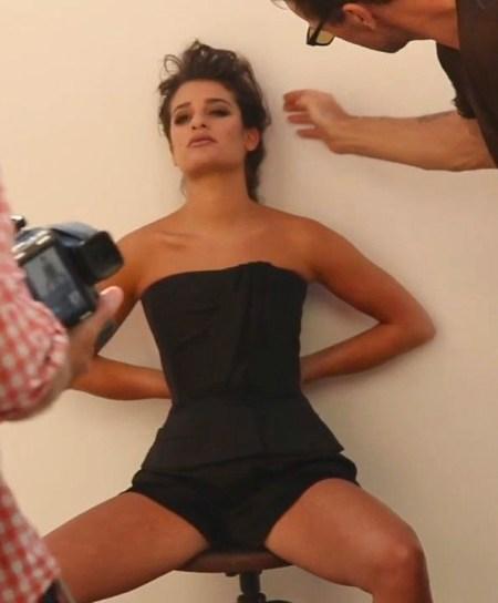 Lea Michele in Marie Claire -11